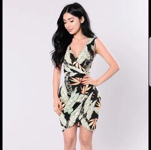 Fashion Nova What Goes Around Dress